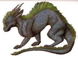 Water Dragon by nimirofox