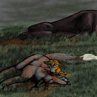 Broken  Guardian by nimirofox