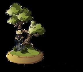 bonsai by toromuco