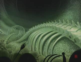 the Bone Cavern of Lazgorth by RenzZero