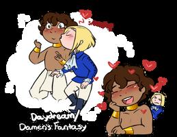 Daydreaming Damen by Arianwen44