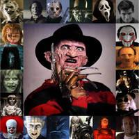 Horror Movie villains by xxphilipshow547xx