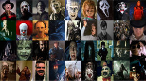 Horror Movie characters by xxphilipshow547xx