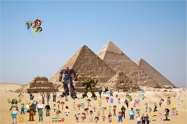 Crossover and Game City World Tour pyramid by xxphilipshow547xx