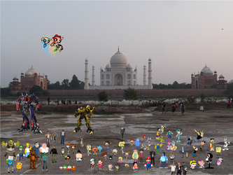 Crossover and Game City World Tour Taj Mahal by xxphilipshow547xx