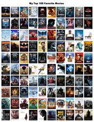 My Top 100 Favorite Movies by xxphilipshow547xx