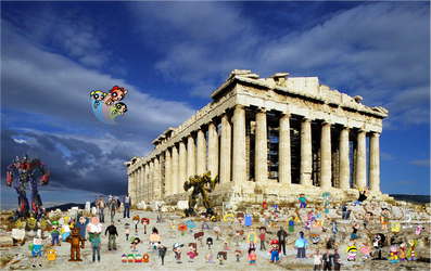 Crossover and Game City World Tour Athens by xxphilipshow547xx