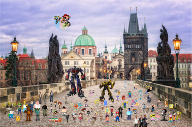 Crossover and Game City World Tour Charles Bridge by xxphilipshow547xx