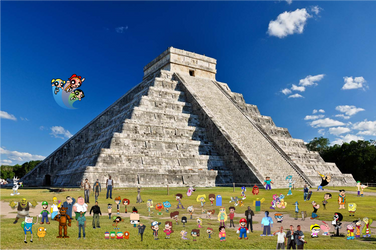 Crossover and Game City World Tour Mexico Aztec by xxphilipshow547xx