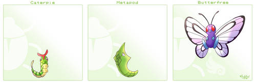 Caterpie Line by Arylett-Charnoa