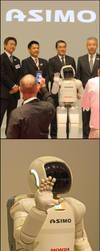 ASIMO in Geneva by organicvision