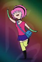 Reitanna In Adventure Time Style by Reitanna-Seishin
