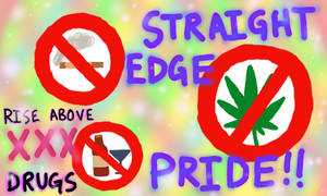 Straight Edge Pride by Reitanna-Seishin