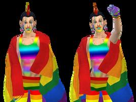 Rainbow Man! by Reitanna-Seishin