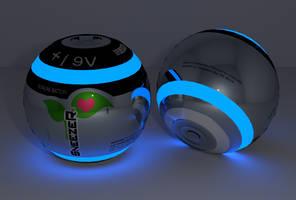 Encephalon 9Volt Batteries by Reitanna-Seishin