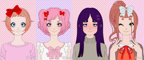Doki Doki Monster Girl Maker Club by Reitanna-Seishin