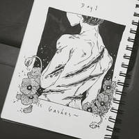 Inktober 2017 by anjimouse
