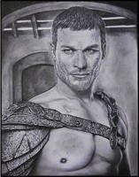 Spartacus - Andy Whitfield *Blood and Sand* by Acaroline05