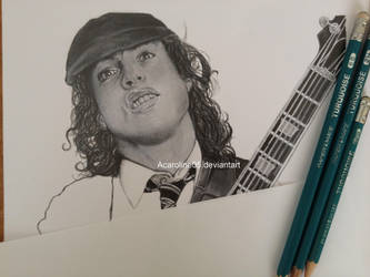 Angus Young WIP by Acaroline05
