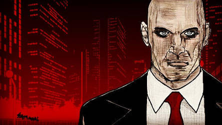 Hitman -World Of Assassination-FA TABLET WALLPAPER by Tasty-muffin