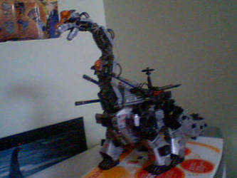 my zoids Ultrasaurus by Dragons-white