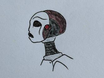 Artificial Caretaker Unit 1209 by Deli-Sammich