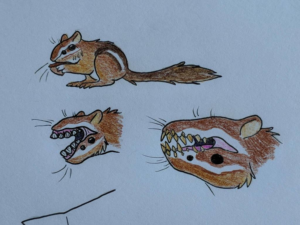 Mutant Chipmunks by Deli-Sammich