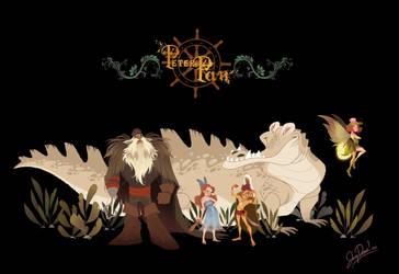 Peter Pan Re-Imagining! by JoceyDraws