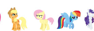 The Mane 6 of Hell by november123456789066
