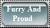 Furry And Proud Stamp by CMSOICADH