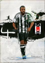 Manuel Fernandes Besiktas 2014 by 21Artt