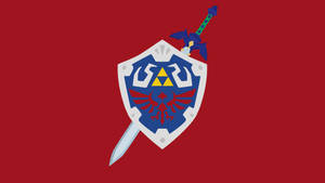 Hylian Shield and Master Sword by Krukmeister