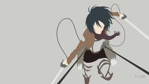 [Request] Shingeki no Kyojin - Mikasa Ackerman by Krukmeister