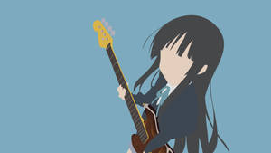 K-ON! - Akiyama Mio by Krukmeister