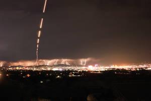 Lightning Storm Over Reno by gidatola