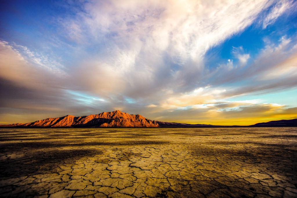 Old Razorback Mountain, Black Rock Desert, Nevada by gidatola