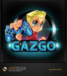Gazgo Mascot Design by LanotDesign