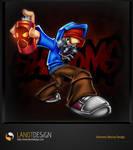 Shrooms Mascot Design by LanotDesign