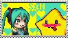 Starfy x Miku Stamp by SuperStarfy2002