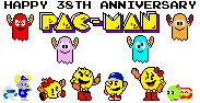 Happy 38th Anniversary Pac-Man by SuperStarfy2002