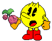 Pac-Man and a Cherubi by SuperStarfy2002