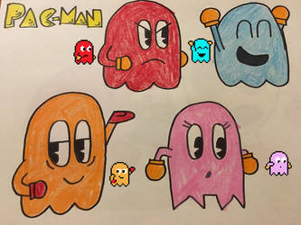 Pac-Ghosts by SuperStarfy2002