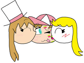 2 Chloes 1 Matoshi by SuperStarfy2002