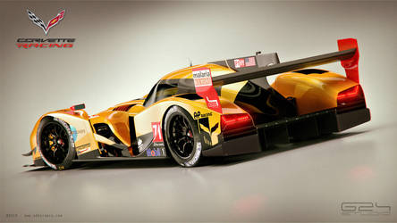 Corvette LMP1 Concept by GranDosicua