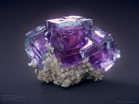 Fluorite by GranDosicua