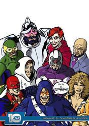 Showcase #21: Campeones de la Justicia by actiontales