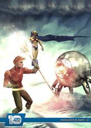 Manhunter de Marte #01 by actiontales