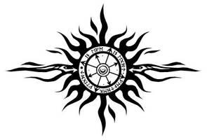 Chaos Sun tattoo design by stardrop
