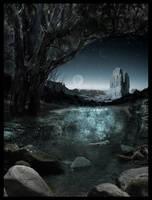 Lunar over Lorien by furiouskitten
