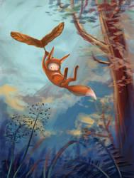 Flying Miro by furiouskitten